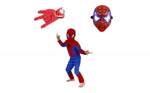 Set costum Spiderman marimea L, masca