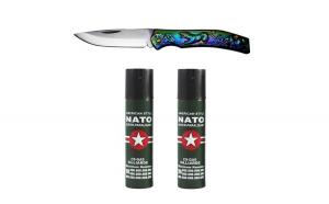 Set 2 sprayuri paralizante, NATO, 60 ml,