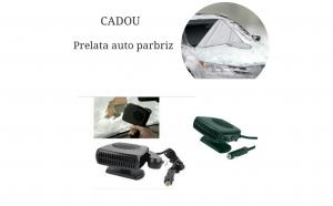 Pachet auto: Aeroterma dezaburire + Cadou prelata auto parbriz