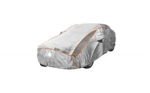 Prelata auto impermeabila cu protectie pentru grindina Citroen C4 Picasso - RoGroup, 3 straturi, gri
