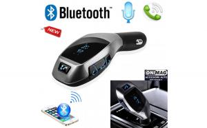 Modulator auto FM X7 cu Functie Bluetooth si Telecomanda Hands-Free