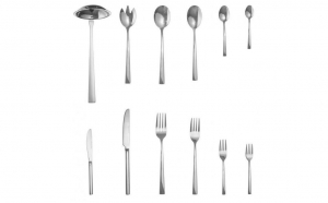Set tacamuri Art of Dining, 68 piese, Inox