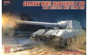 1:72 German WWII Jagdpanzer E-100 Tank
