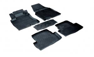 Covoare / Covorase / Presuri cauciuc stil tip tavita RENAULT Kadjar 2015-prezent (5 bucati) (85655)