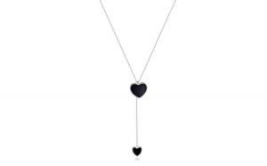 Colier cu lantisor din argint 925 TDouble Heart Necklace