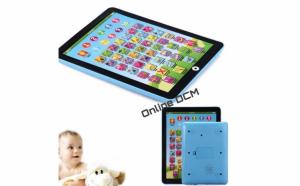 Jucarie educativa pentru copii: tableta multifunctionala pentru invatarea limbii engleze