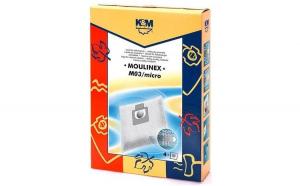 Sac aspirator Moulinex, sintetic, 4X