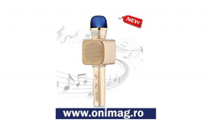 Microfon wireless cu sistem karaoke YS