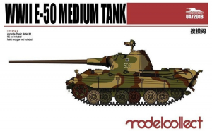 1:72 Germany WWII E-50 Medium Tank with