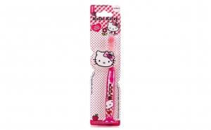 Periuta de dinti Hello Kitty cu capacel, + 3 ani