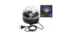 Glob disco cu lumini, laser si telecomanda