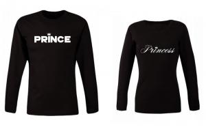 Set bluze negre PRINCE/Princess Cod