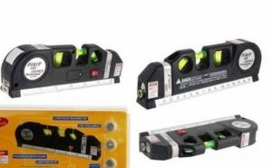 Nivela multifunctionala cu raza laser, la 33 RON in loc de 99 RON