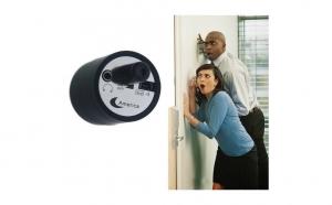 Dispozitiv spion de ascultare prin pereti