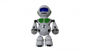 Robot dansator cu lumini led si melodii