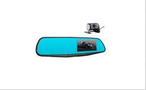 Camera video auto, oglinda L854x cu doua camere full  HD
