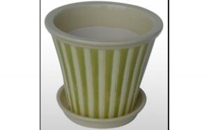 Ghiveci din ceramica pentru flori cu suport 6142 MN019714 Feronya