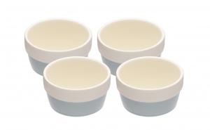 Set 4 boluri ramekin, 9 cm, ceramica