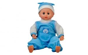 Papusa care creste bleu 40 cm cu accesorii