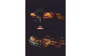 Tablou Canvas Glamour Woman, 70 x 100 cm, 100% Poliester