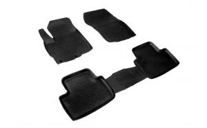 Covoare / Presuri cauciuc stil tip tavita MITSUBISHI ASX dupa 2010-prezent (5 bucati)- SEINTEX