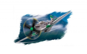 1:72 North American P-51D mustang IV