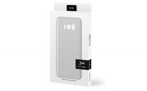 Husa 3MK Natural Samsung G955 S8 Plus white