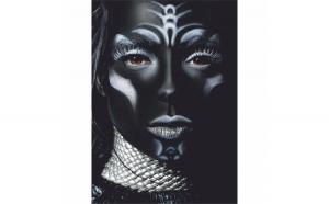 Tablou Canvas Woman Portrait, 50 x 70 cm, 100% Bumbac