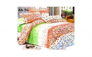 Set 4  lenjerii de pat cu 4 piese, din bumbac satinat, calitate garantata 100%, la doar 229 RON in loc de 499 RON
