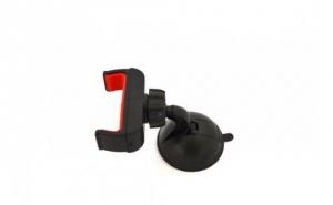 Suport auto universal pentru telefon GSS, negru/rosu la doar 32 RON in loc de 45 RON