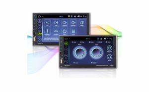 Radio MP5 Player auto 8708 cu Android, Wifi, GPS, Mirror link si Radio FM