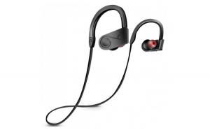 Casti Wireless Techstar® K98  Negru  Bluetooth 4.1  HiFi  Cip CSR