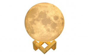 Lampa luna 3D + Cadou