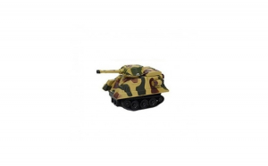Masinuta de jucarie cu inductie, tip tanc, urmareste linia trasata cu marker-ul, model army