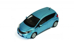 Macheta Auto NISSAN NOTE 2012 Blue 1:43
