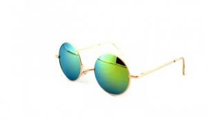 Ochelari de soare John Lennon Vintage - Albastru/Auriu