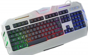 Tastatura gaming cu iluminare multicolora Black Friday Romania 2017