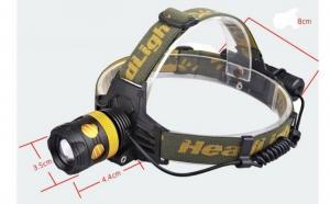 Lanterna Frontala Flashsix E90, la 80 RON in loc de 160 RON