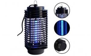 Lampa UV anti-insecte, aparat anti tantari, muste, la doar 35 RON in loc de 100 RON