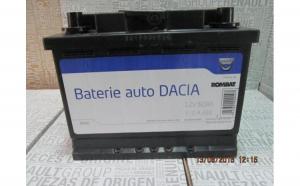 Baterie auto 60 Ah 510 A(EN) 12V Originala Dacia 6001547710
