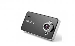 Camera auto K6000 HD, Model Ultracompact si modern, vedere noapte cu LED Infrarosu, suport card microSD 32 GB, la doar 149 RON de la 299 RON
