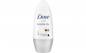 Deodorant roll-on, antiperspirant Dove, Invisible Dry, 48h, 50 ml