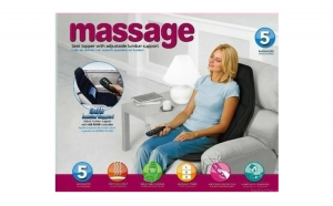 Husa pentru masaj, cu perna si incalzire - 5 programe