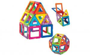 Set magnetic de constructie cu 30 piese