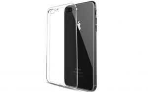 Husa slim silicon Iphone 7/Iphone 8, Transparenta