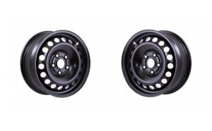 Set 2 Jante otel Opel Astra J dupa 2014 6.5Jx16  H2  5x105x56.6  ET39