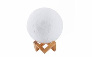 Lampa 3D luna + CADOU cutie bijuterii, TeamDeals 9 Ani, Primesti un cadou