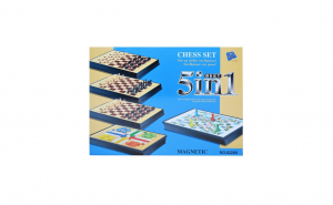 Joc Magnetic 5:1, Chess Set