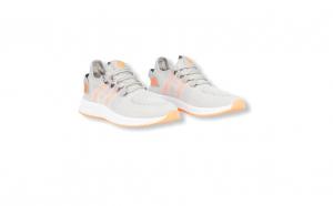 Sneakers Letoon gri-orange textil 2103