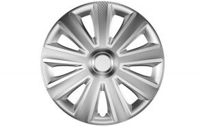 Capace roti auto Aviator Carbon 4buc - Argintiu - 14''